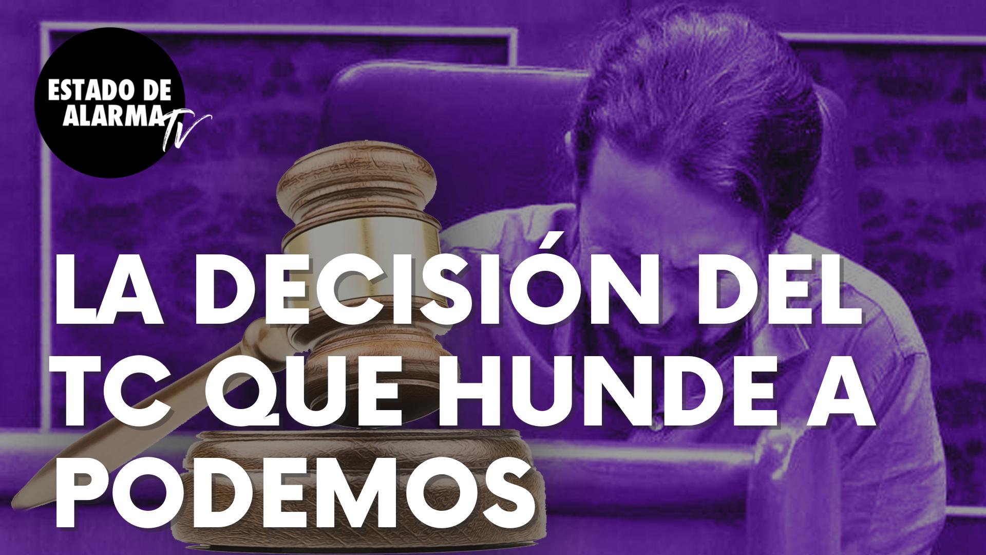El decisión del Tribunal Constitucional tras el recurso de Vox que hunde a Podemos e Iván Redondo