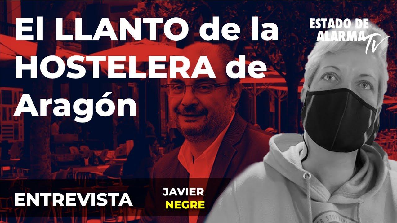 Entrevista: El llanto de la Hostelera de Aragón, con Javier Negre