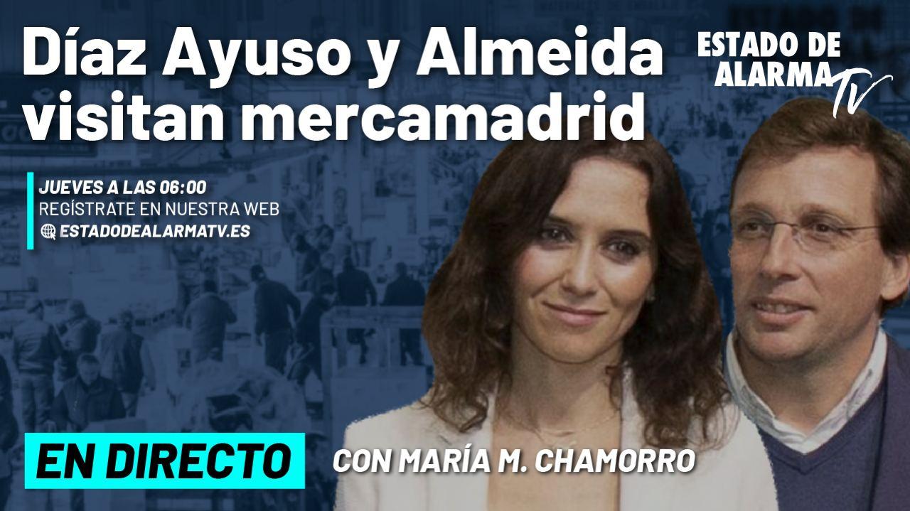 DIRECTO | Díaz Ayuso y Martínez Almeida visitan MercaMadrid