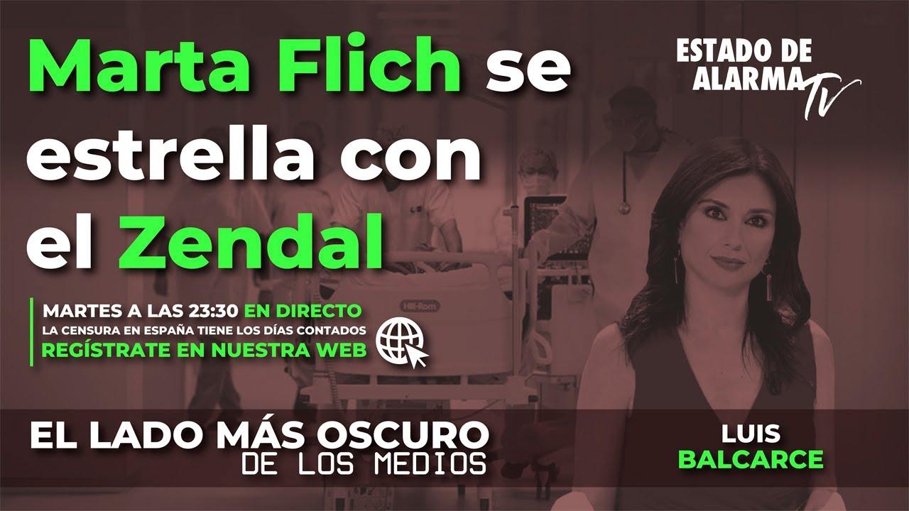 En Directo El Lado Oscuro de los Medios-Marta Flich se estrella con el Zendal, Luis Balcarce