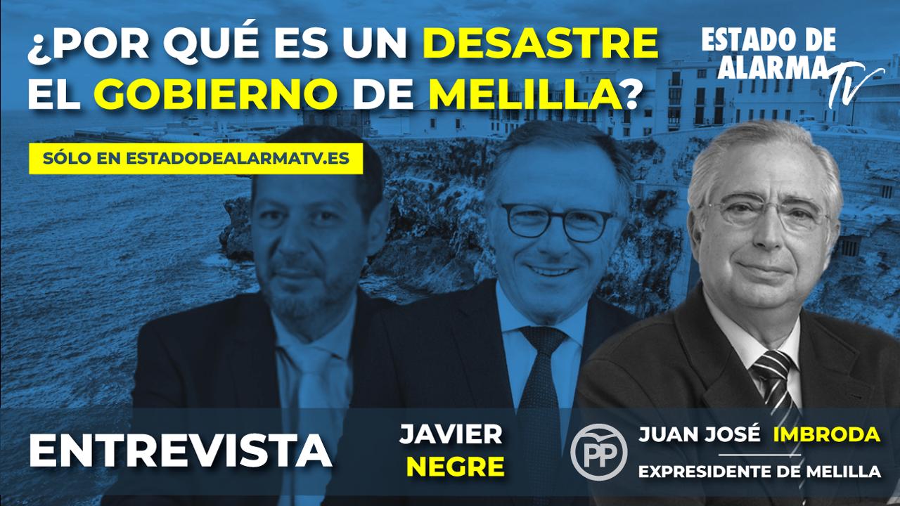 ENTREVISTA : ¿Por qué es un DESASTRE el GOBIERNO de MELILLA?  JUAN JOSÉ IMBRODA, Expresidente de Melilla