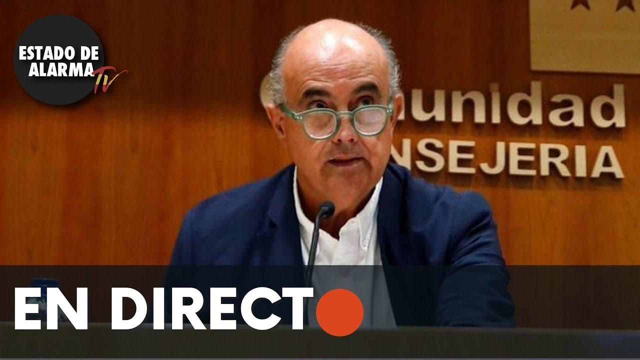DIRECTO | Rueda de prensa, actualización situación epidemiológica CMA