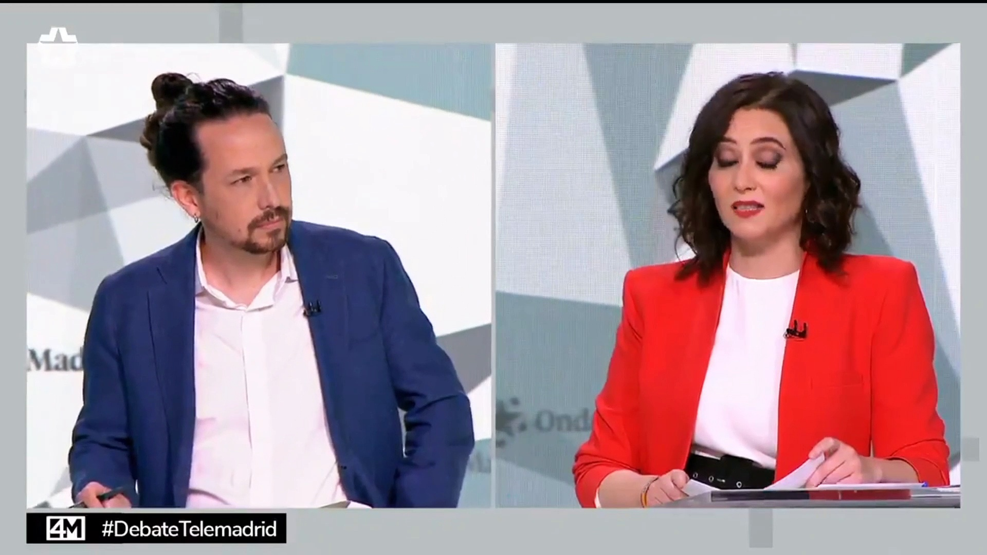 """Isabel Díaz Ayuso desarbola por completo a Iglesias durante el debate para el 4M: """"Mezquino"""""""