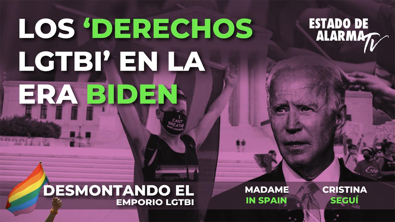 """DESMONTANDO el EMPORIO LGTBI con MADAME IN SPAIN. Los """"DERECHOS LGTBI"""" en la ERA BIDEN"""