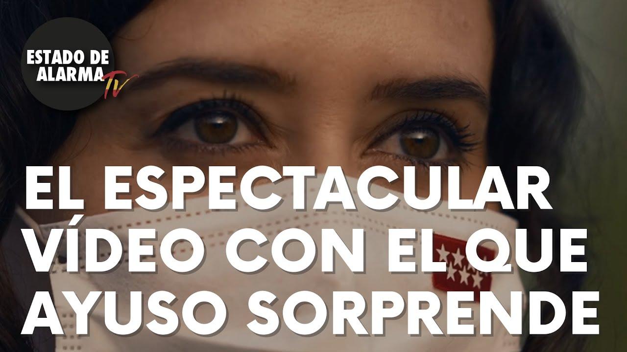 """El espectacular vídeo con el que Isabel Díaz Ayuso sorprende a todos: """"Libertad"""""""