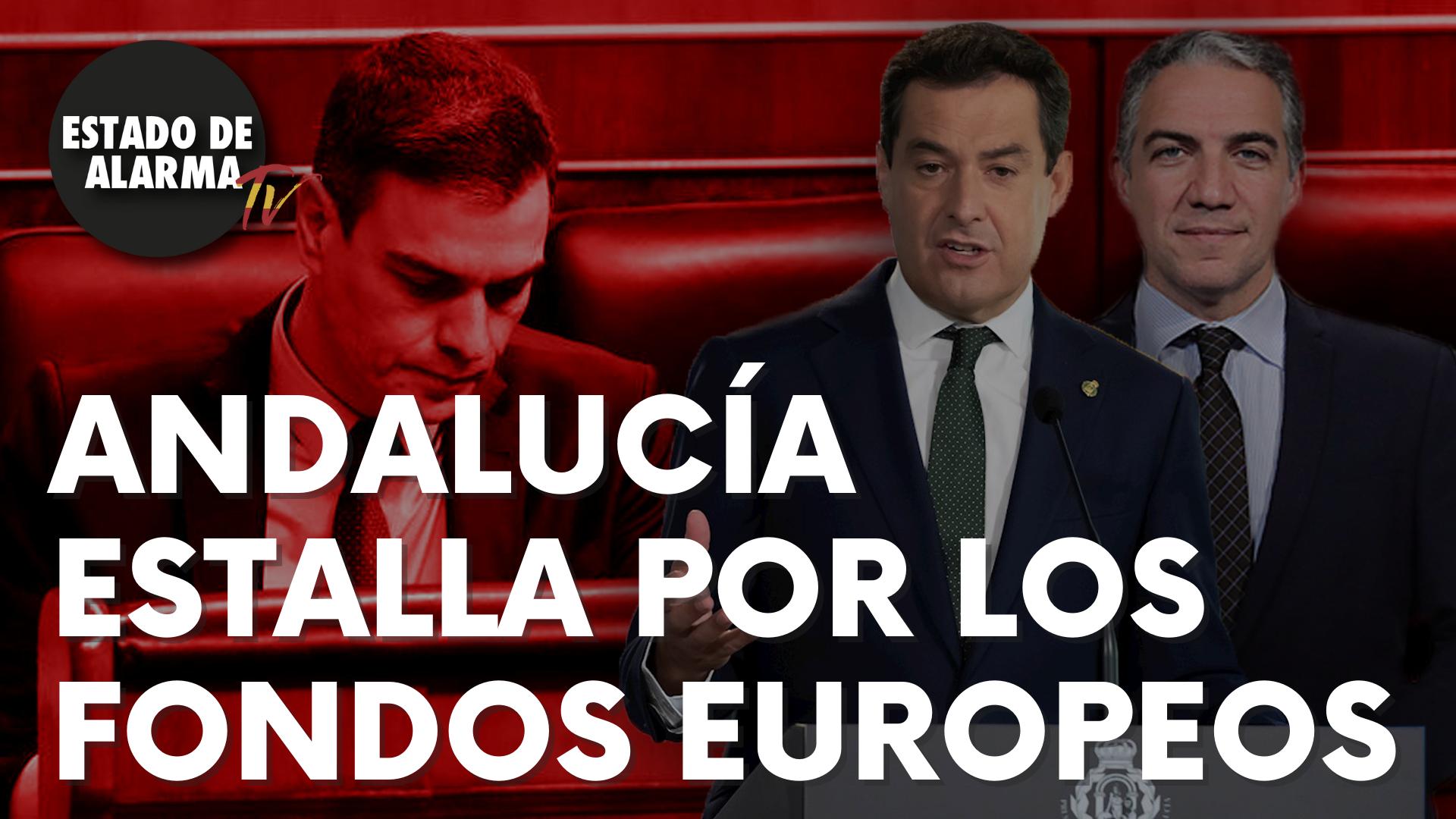 Andalucía estalla por los fondos europeos