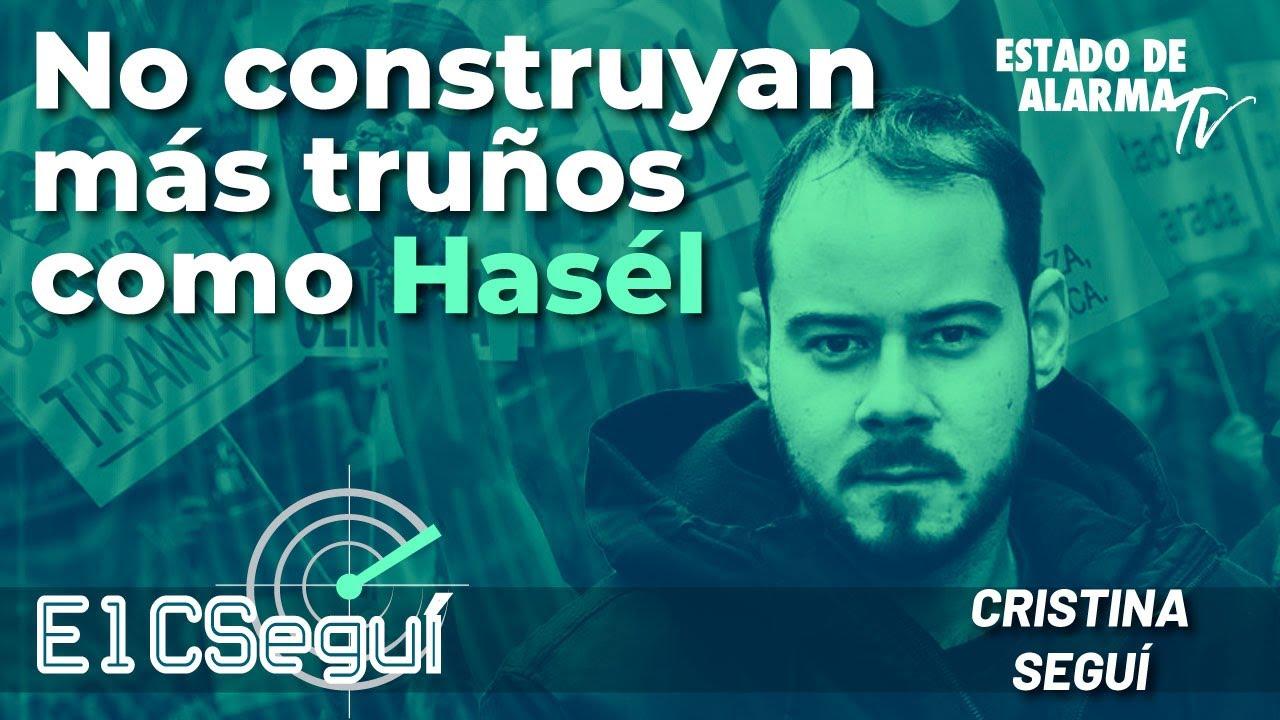 En Directo El CSEGUÍ. No construyan más truños como Hasél, con Cristina Seguí.