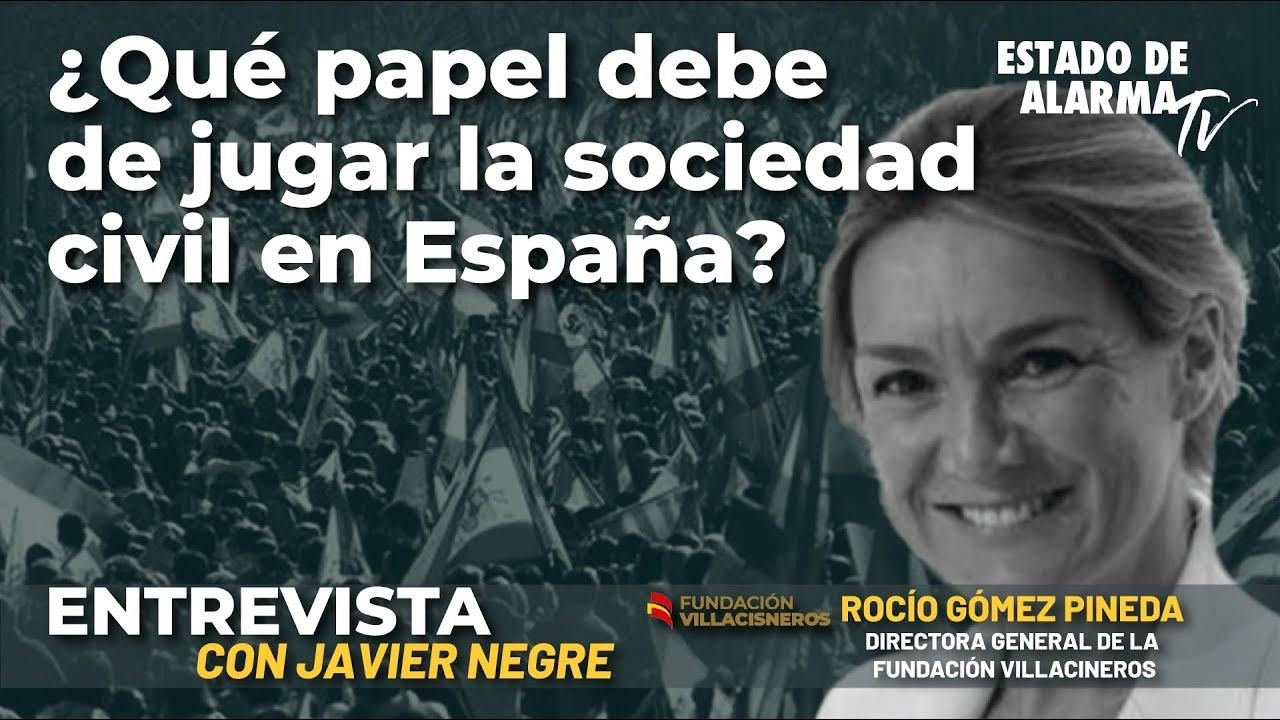 Presentación del Canal 'Fundación Villacisneros'; con Javier Negre y Rocío Gómez Pineda