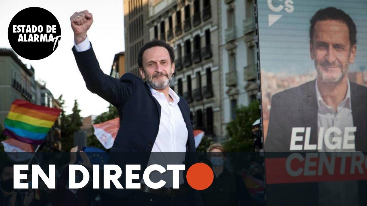 DIRECTO | Acto de campaña de Ciudadanos en Chamberí