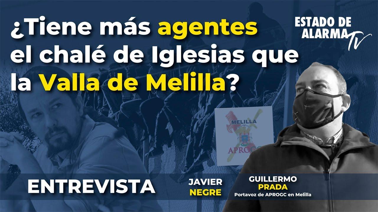Entrevista: ¿Tiene más agentes el chalé de Iglesias que la Valla de Melilla?, Javier Negre, Murciano Encabronao, Guillermo Prada