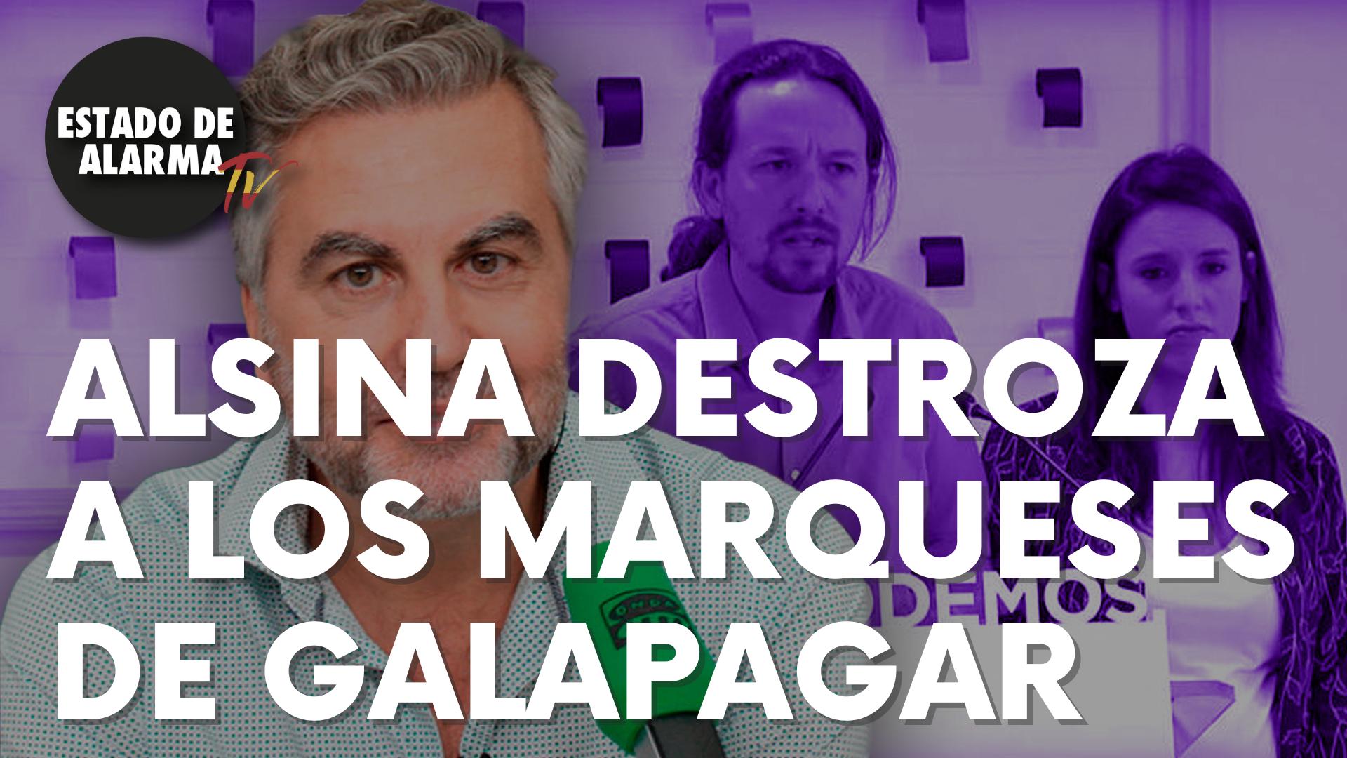 Alsina destroza a los marqueses de Galapagar por Ley del 'sí es sí'