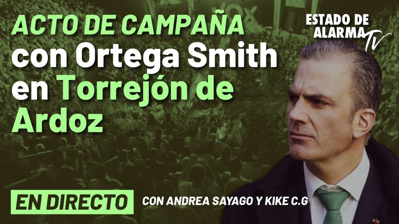 DIRECTO | Acto de campaña de Vox con Ortega Smith