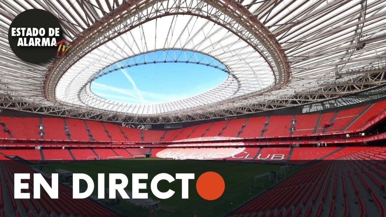 DIRECTO | Manifestación en Bilbao contra la celebración de la Euro 2021 en San Mamés