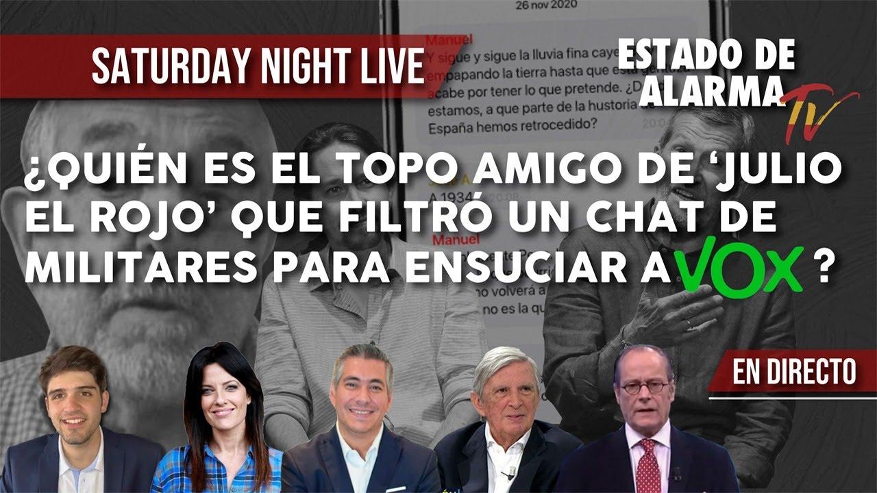 ¿Quién es el TOPO AMIGO de 'Julio El Rojo' que FILTRÓ un CHAT de MILITARES para ENSUCIAR a VOX?