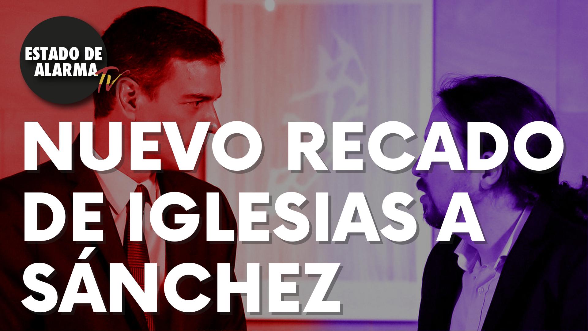 Nuevo recado de Iglesias a Sánchez por las diferencias en el Gobierno