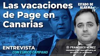 Las vacaciones de Page en Canarias; Entrevista Eurico Campano a Francisco Núñez