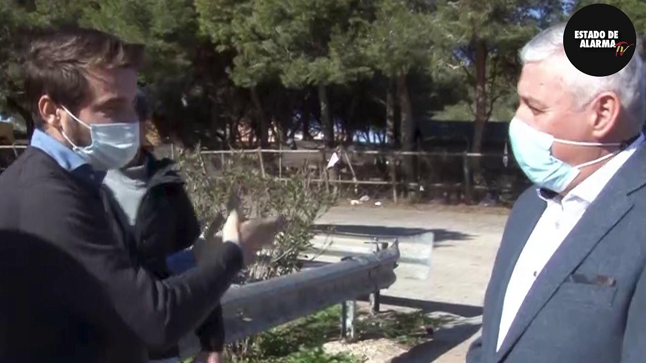 La entrevista al ex consejero de Melilla (Daniel Ventura) antes del ataque de los menas a estado de alarma