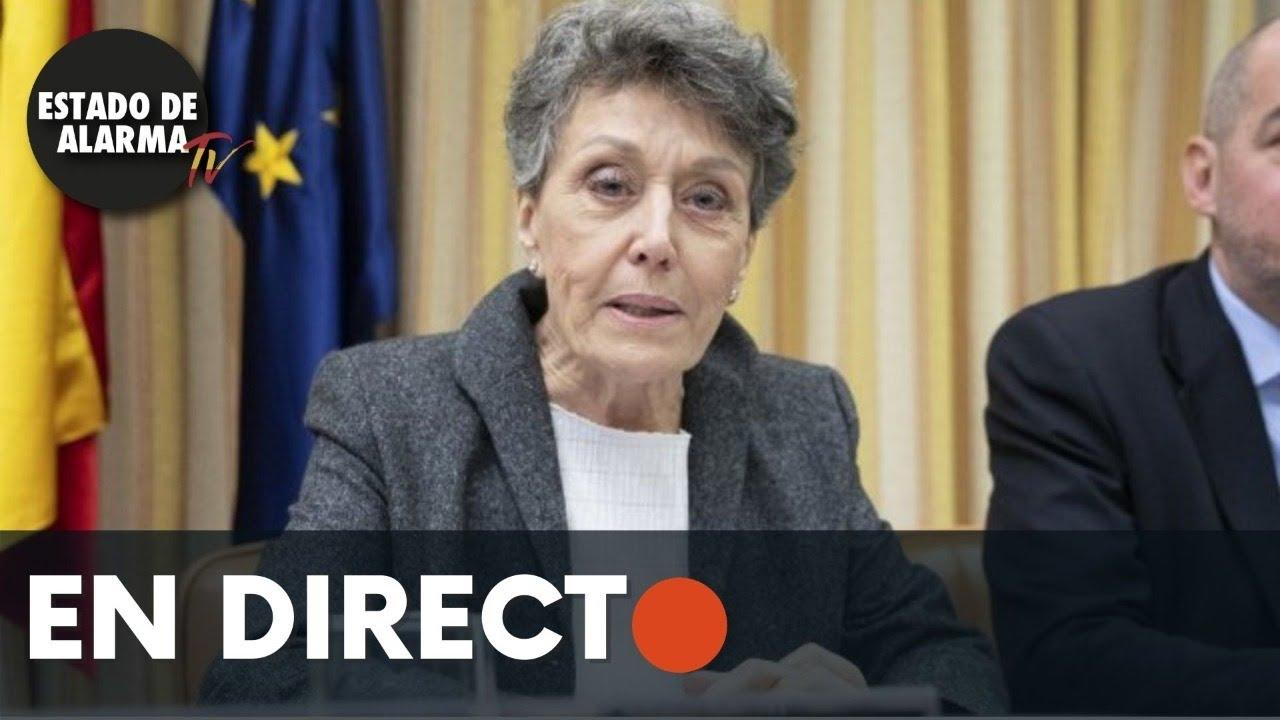 DIRECTO | Rosa María Mateo comparece en la Comisión Mixta de Control de RTVE en el Senado