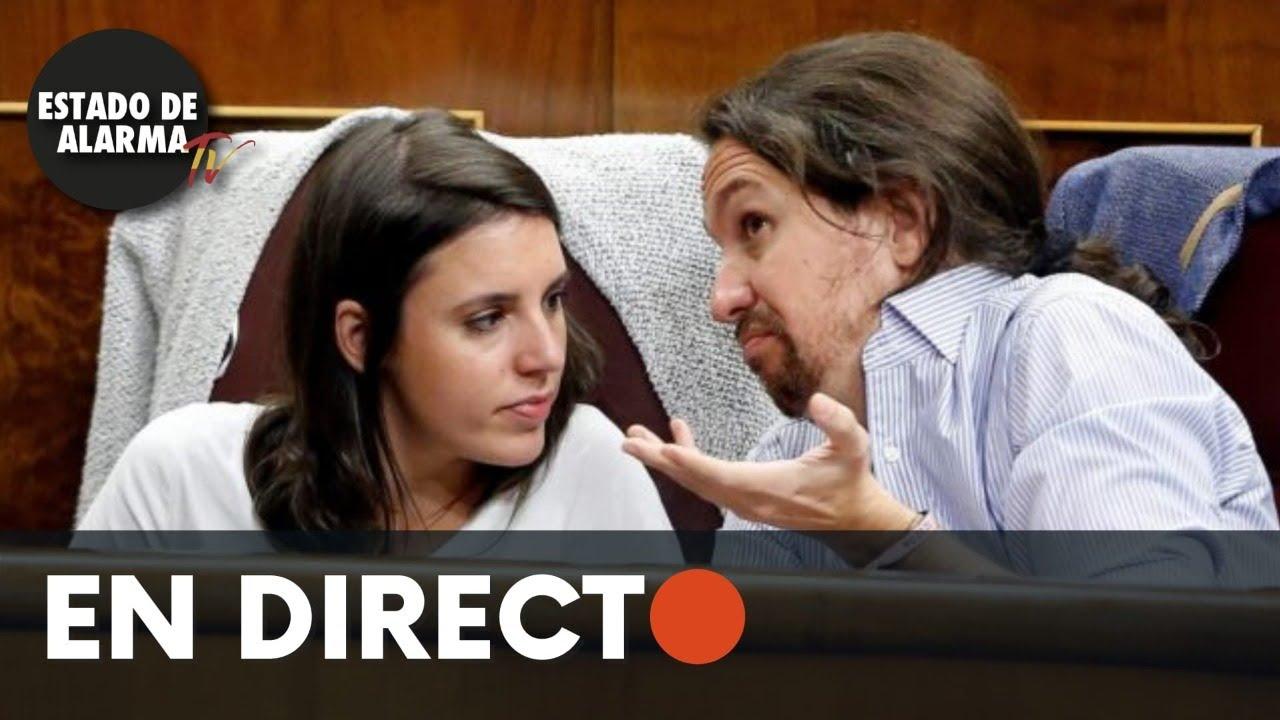 DIRECTO | Pablo Iglesias e Irene Montero dan una charla sobre derechos de los LGTBI+