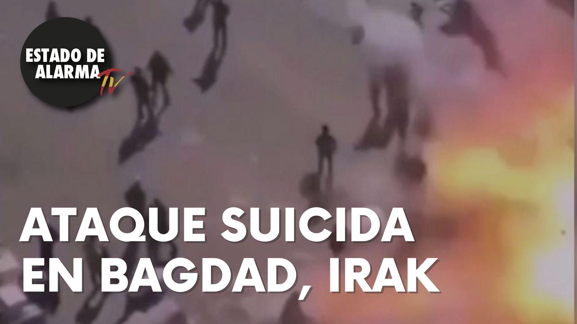Ataque suicida en Bagdad, Irak