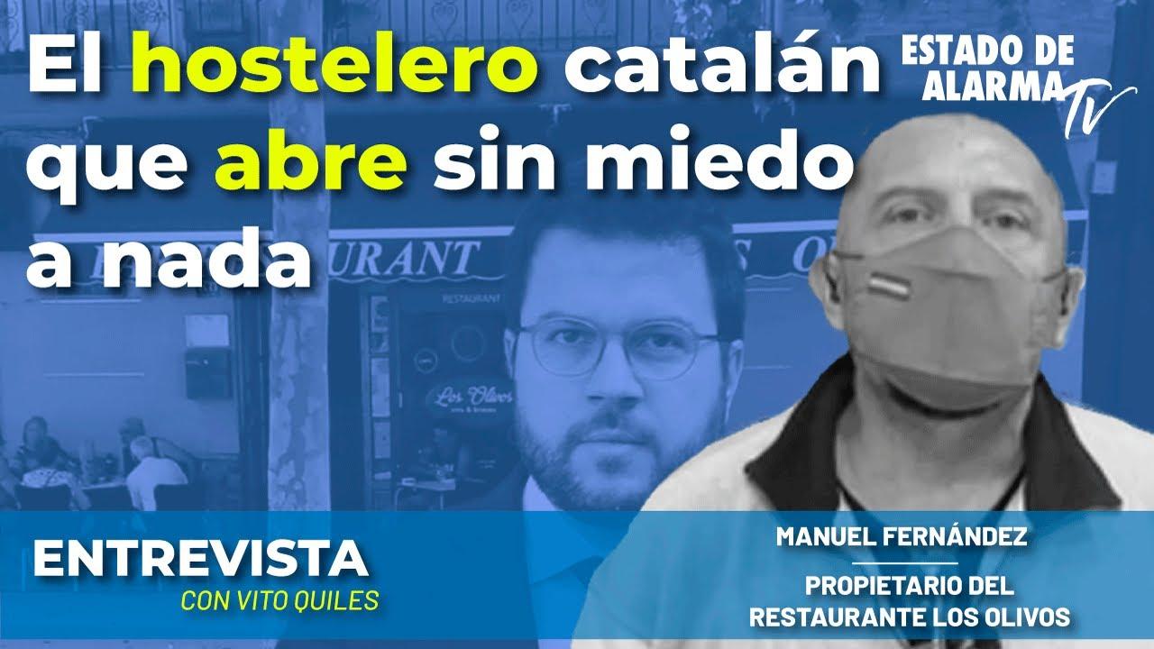 En Directo Entrevista con Vito Quiles: El hostelero catalán que abre sin miedo a nada
